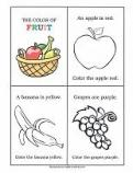 Fruit Colors Book