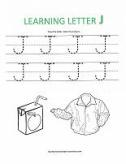 letter tracing worksheet