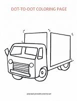 truck dot to dot picture