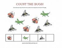counting bugs worksheet