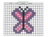 graph art buterfly