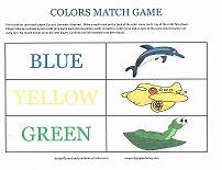 printable color match game