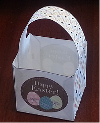 printable easter basket craft