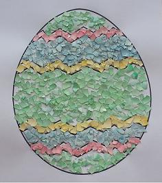 easter egg decorating craft