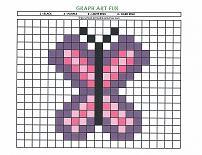 graph art buterfly