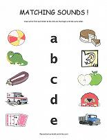 beginning sounds worksheet