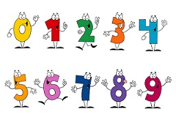 number characters 0-9