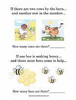 preschool story problems