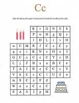 Letter C Maze