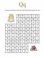Letter Q Maze