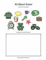 preschool color activities. Black Bedroom Furniture Sets. Home Design Ideas