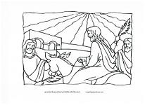 Jerusalem coloring page