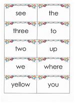 sight word flashcards