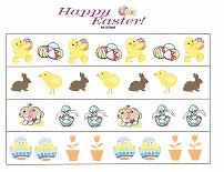 easter patterning worksheet
