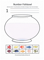 Printables Preschool Cut And Paste Worksheets preschool number activities 1 worksheet