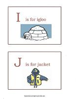 I and J flashcards
