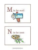 M and N flashcards