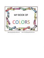 cover for book of colors