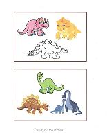 dinosaurs for learning colors