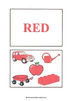 red color cards