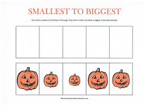 halloween cut and paste worksheet