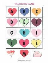 valentine's day themed printables