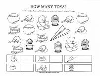 counting toys worksheet