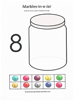 number eight worksheet
