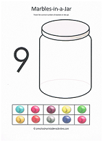 number nine worksheet