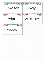 flashcards for sight words
