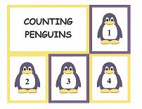 penguin theme counting cards