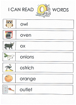 letter o worksheet