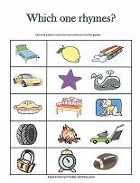 Worksheets Pre-k Rhyming Worksheets rhyming worksheets words worksheet