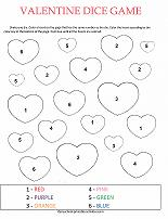 valentines day number game for preschoolers
