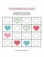 valentines day sudoku puzzle