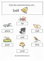 ell family worksheet