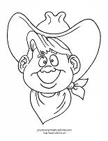 My Little Pony Wear Awesome Cowboy Hat Coloring Page ... |Small Cowboy Hat Coloring Page