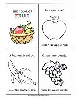 colors printable activity