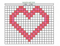 graph art heart