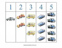 vehicle theme counting strips