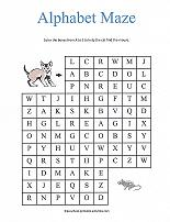 Alphabet Maze