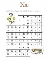 Letter X Maze