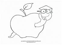 preschool graduation coloring page