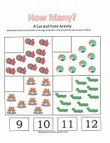 counting 9-12 worksheet