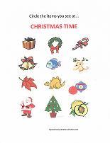 christmas activity for preschoolers
