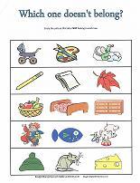 what doesn't belong worksheet