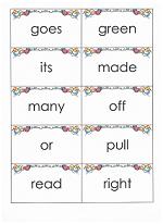 printable sight word flashcards