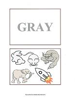 gray color cards