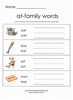at family worksheet