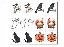 halloween memory match game